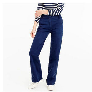 J. Crew Tailored Chino Pant in Navy - NWT